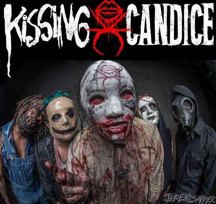 Kissing Candice Unmasked