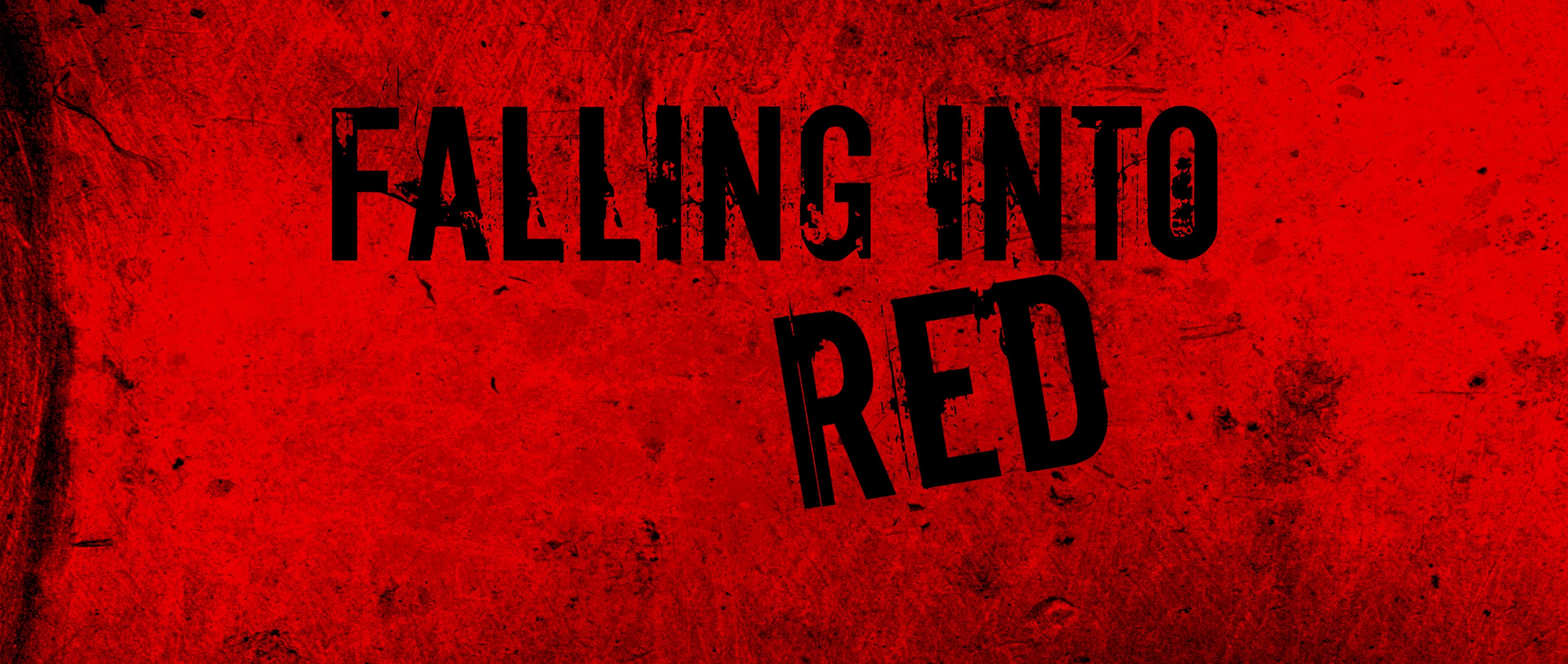 falling into red