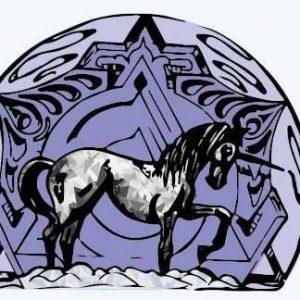 Glass Unicorn