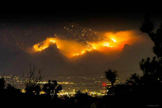 Hilltop Burning