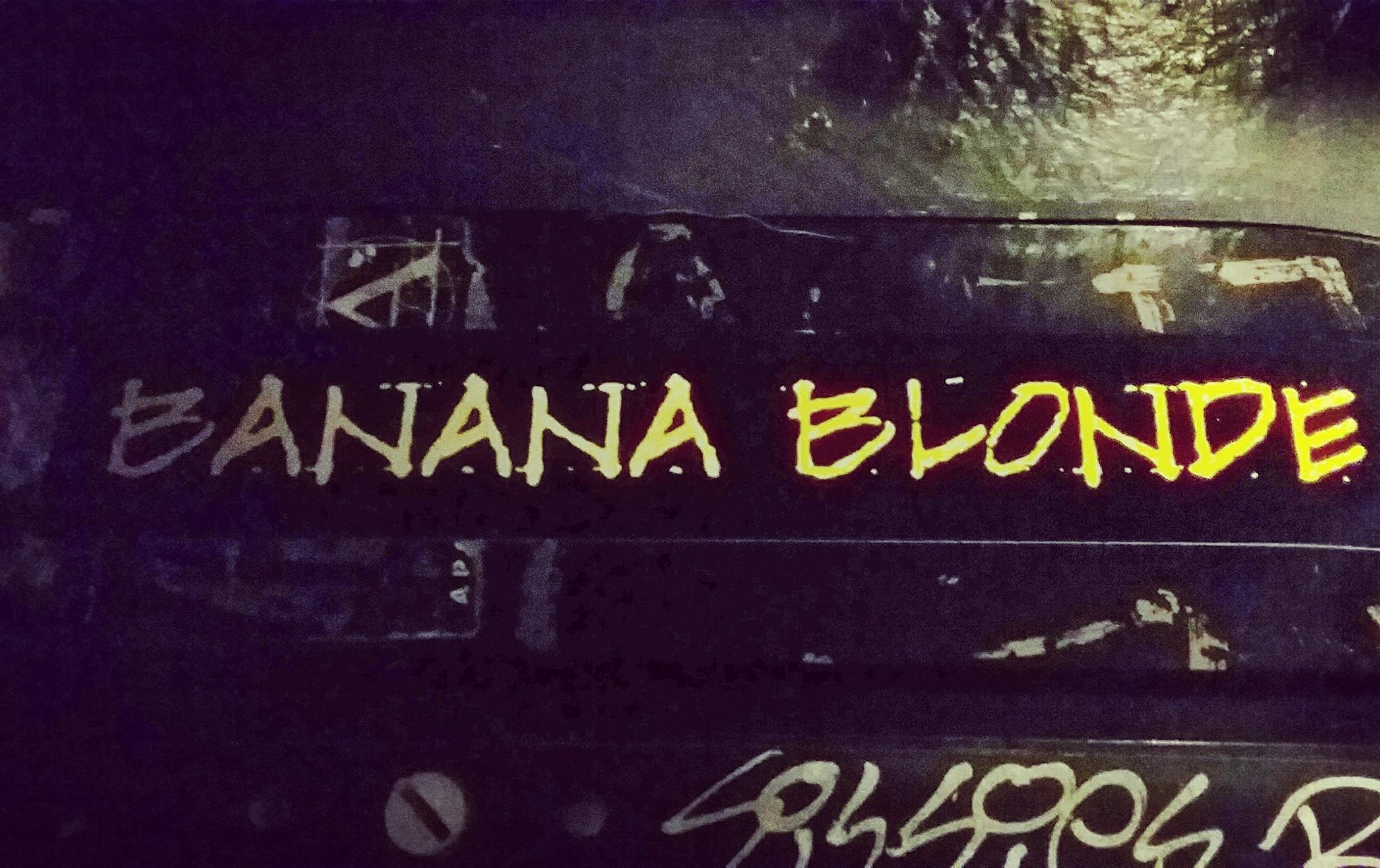 banana blonde